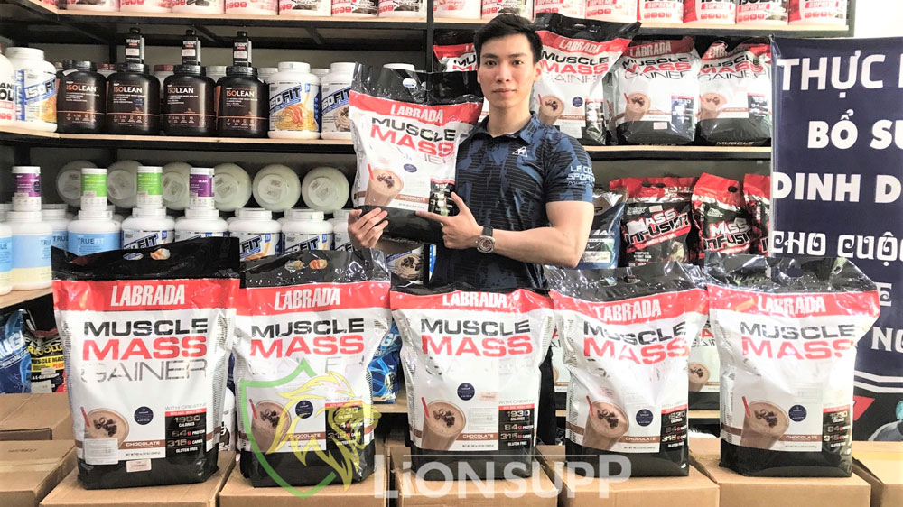 muscle mass gainer tăng cân 5.4kg